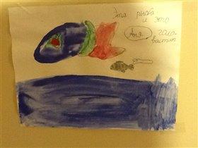 4,5 года, аквариум