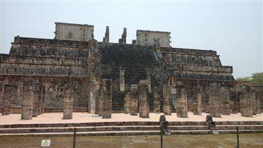 Чичен-Ица, храм воинов