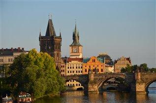 Карлов мост.Прага