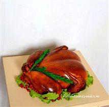 Торт Курица гриль