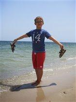 только ножки помочу, Семён 9 лет
