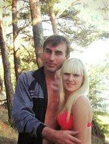 Семейных отдых в сосновом лесу на озере)