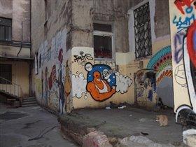 Граффити. Питер.