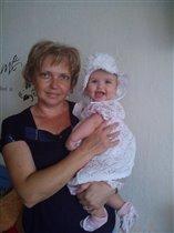 Моя принцесса с бабушкой!
