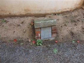 Шахта для загрузки угля в подвал