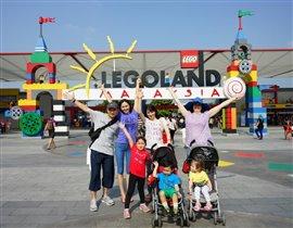 Семейка в Леголенде