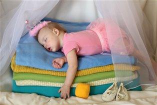 Спит моя принцесса