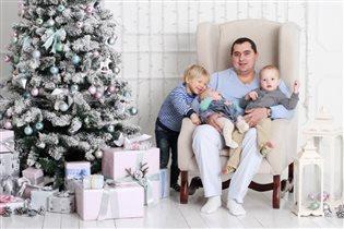 Семейный праздник с семьей