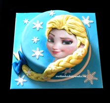 Торт Эльза (Холодное сердце)