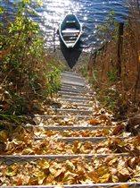 лестница осени