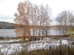 Озеро на Урале