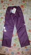 Утепленные брюки д/д, рост 128-134