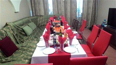 Праздничный стол 14 февраля.