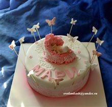 Торт Девочке на рождение