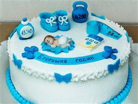 Тортик для нашего сынули!