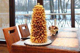 Шакотис - литовский праздничный пирог