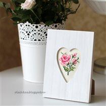 Розовая миниатюра