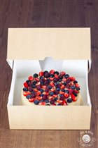 Классический чизкейк со свежими ягодами. Цена 200р