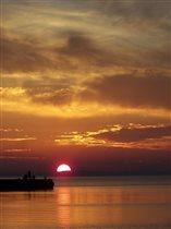 закат на Тамани