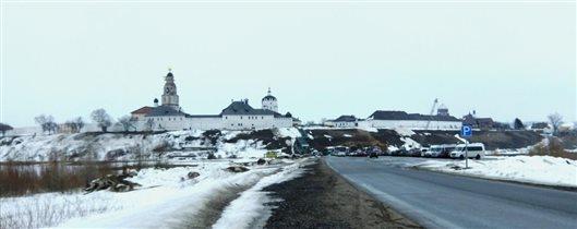 Панорама Свияжска