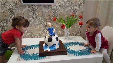 папин тортик на день рождения!