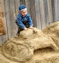 Мой песочный танк