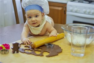 Мы любим кулинарить, с моими помощниками это легко