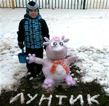 Лунтик - мой любимый мульт-герой )