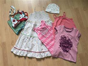Пакет летней одежды р.128