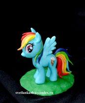 Сахарная фигурка Пони