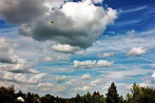 Летнее небо в Тульской области