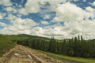 Горный Алтай. За Семинским перевалом.