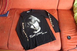 Майка с Куртом Кабейном, Nirvana, для фанатов