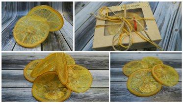 Карамелизированные апельсины.