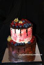 Торт Ягодно-шоколадный