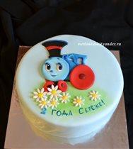 Торт Паровозик из Ромашково (аппликация)