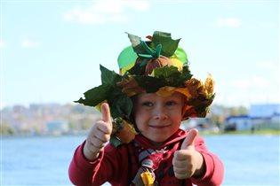 шляпа для красавицы осени