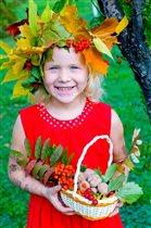Девочка- осень