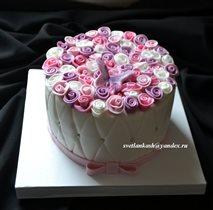Торт Цветник