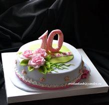 Торт девочке на 10 лет