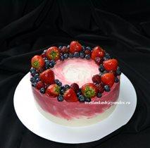 Торт Ягодный веночек
