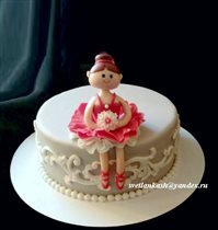 Торт Девочке-балерине