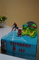 торт для супер героя
