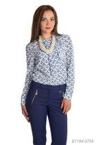 блузка 44 р голуб