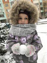 Лепим и играем в снежки!