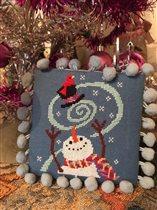 Design Winter bluster из JCS ornaments 2016