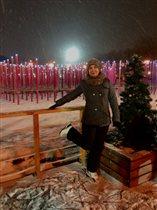 Я помню чудные мгновения.когда кружился белый снег