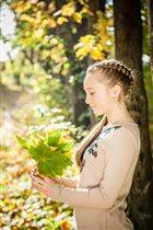 Осень в моих волосах!
