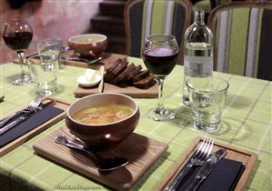 Эстонский обед