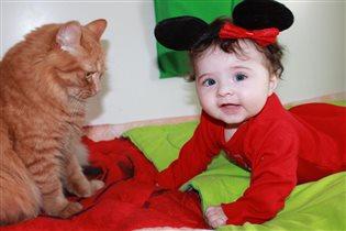 Кошки-Мышки. Мышка-Аришка и Кот-Тишка.
